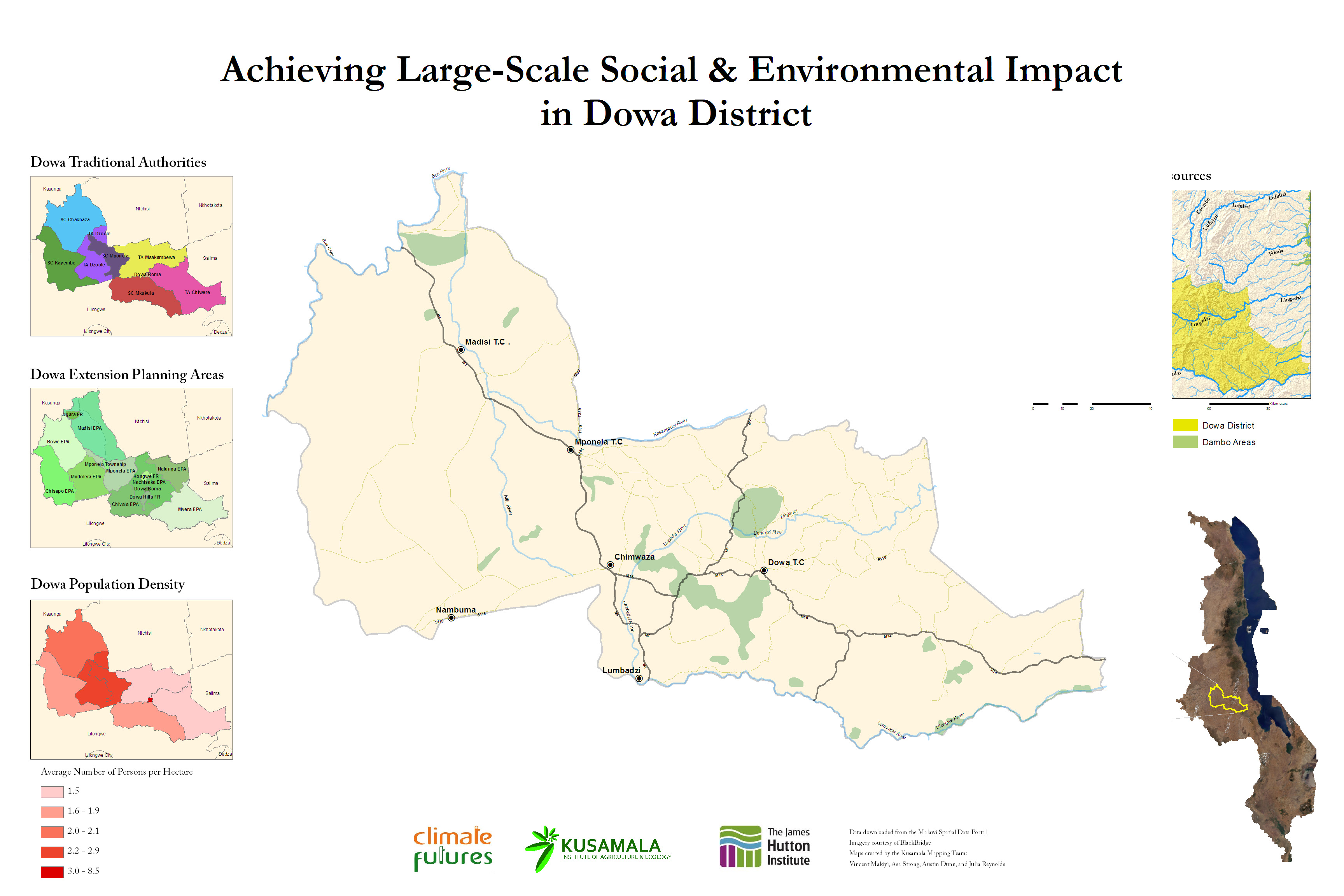 Achieving Large-Scale Social & Environmental Impact in Dowa District