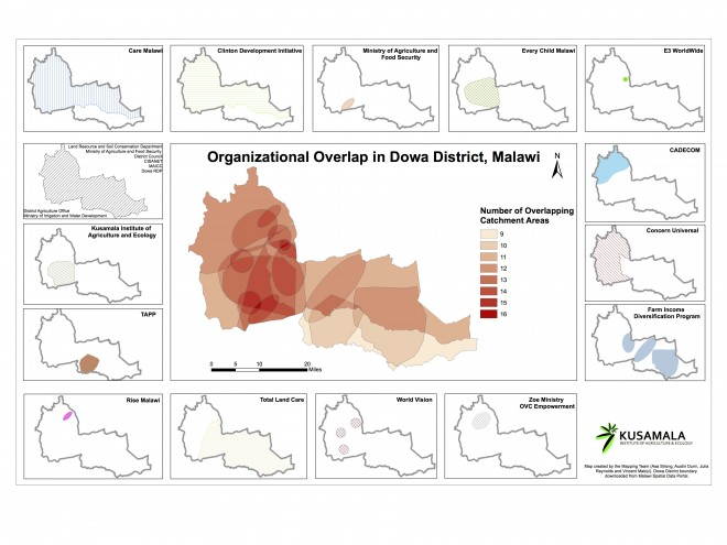 CSO Overlap and Individual Catchments