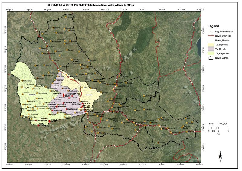 Catchment NGO Overlap Map