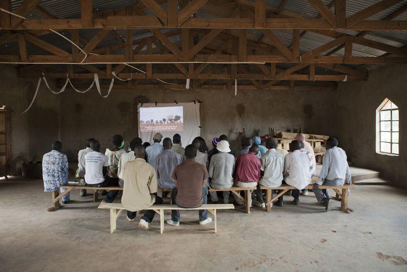 Village film screening