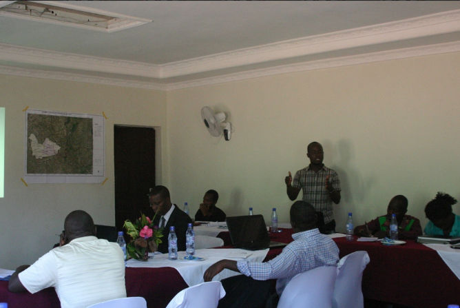 Chisomo Kamchacha at 3rd annual CSO meeting