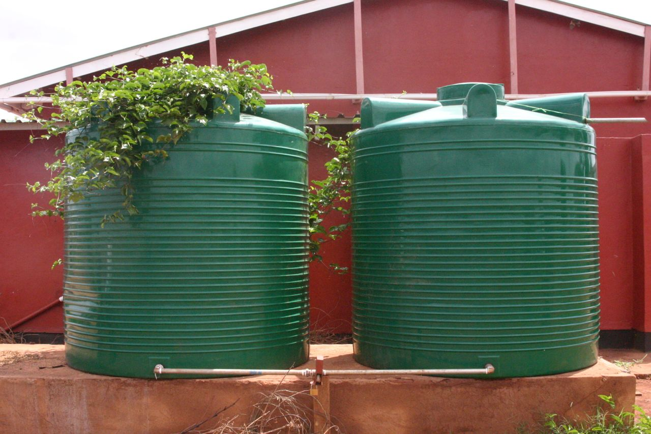 new rain water tanks