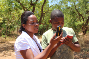 GPS training with CSA coordinator