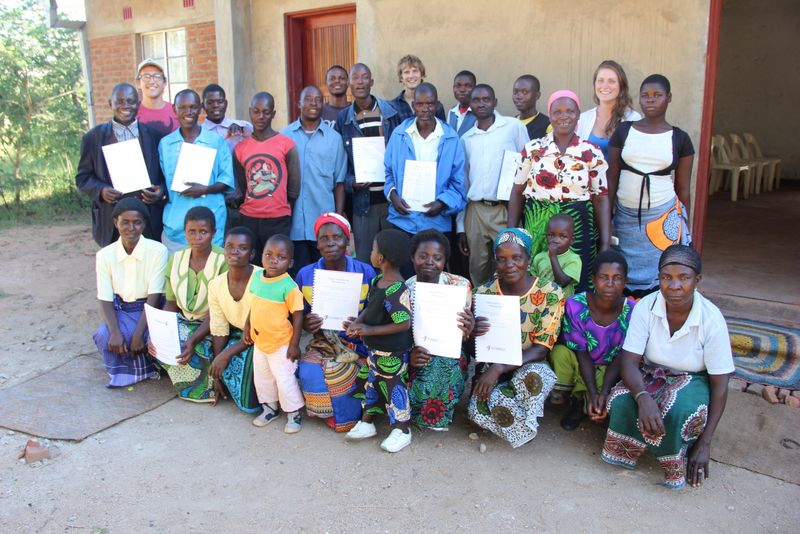Khundi community project participants