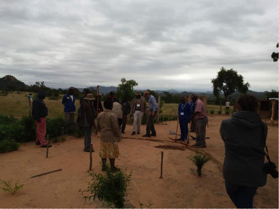 TOPS Muonde Trust Visit in Zimbabwe